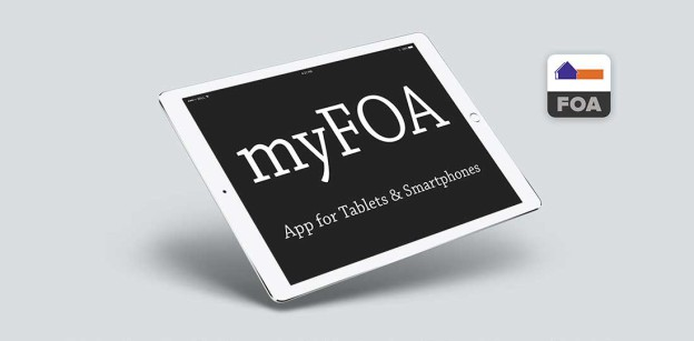 Introducing the myFOA app
